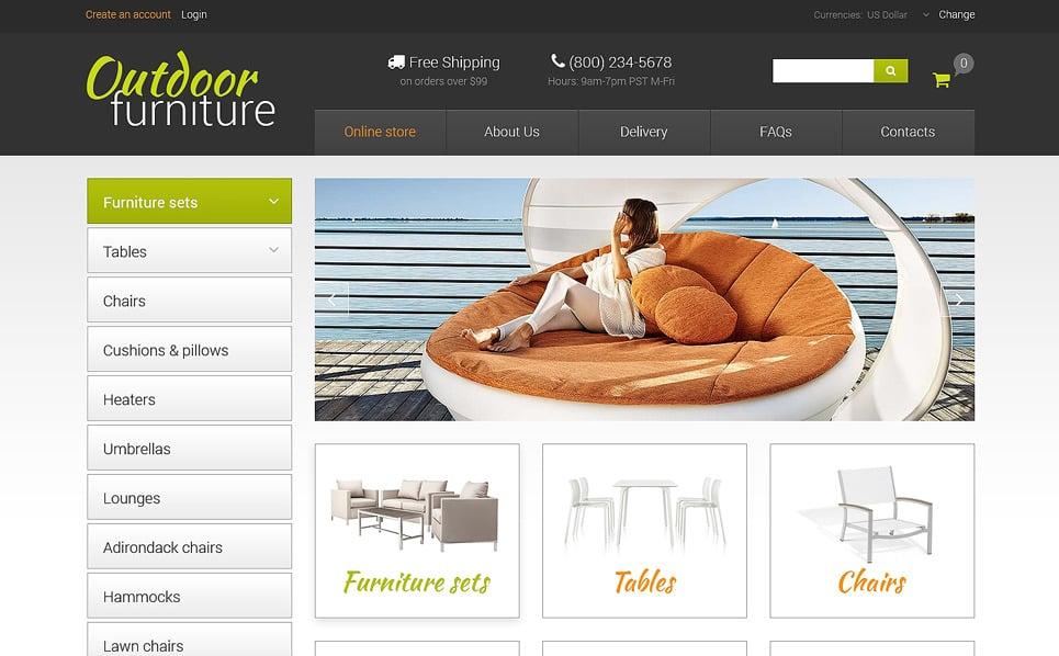 Thème VirtueMart  pour site de meubles New Screenshots BIG