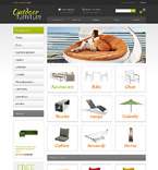 Furniture VirtueMart  Template 48846