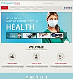 Medical Moto CMS HTML  Template 48854