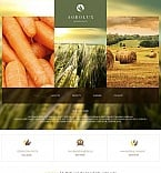 Agriculture Moto CMS HTML  Template 48857