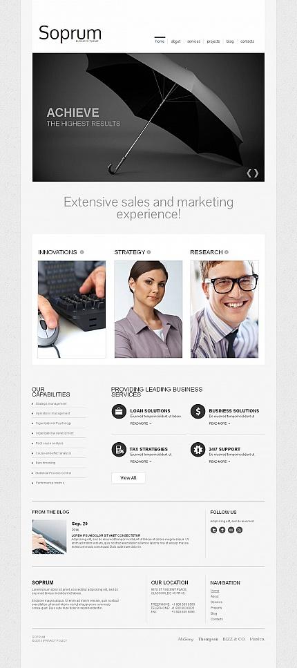 ADOBE Photoshop Template 48867 Home Page Screenshot