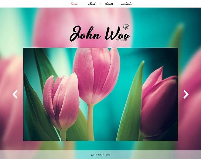 Szablon Galerii Zdjęć #48869 na temat: portfolio fotograficzne New Screenshots BIG