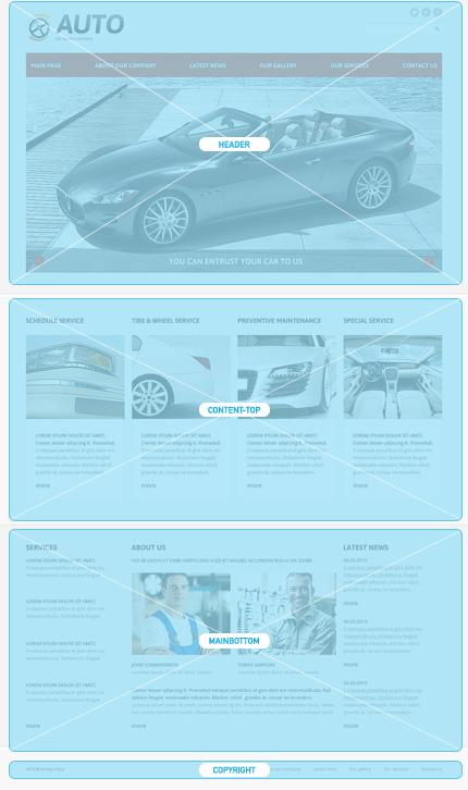 Joomla Theme/Template 48883 Main Page Screenshot