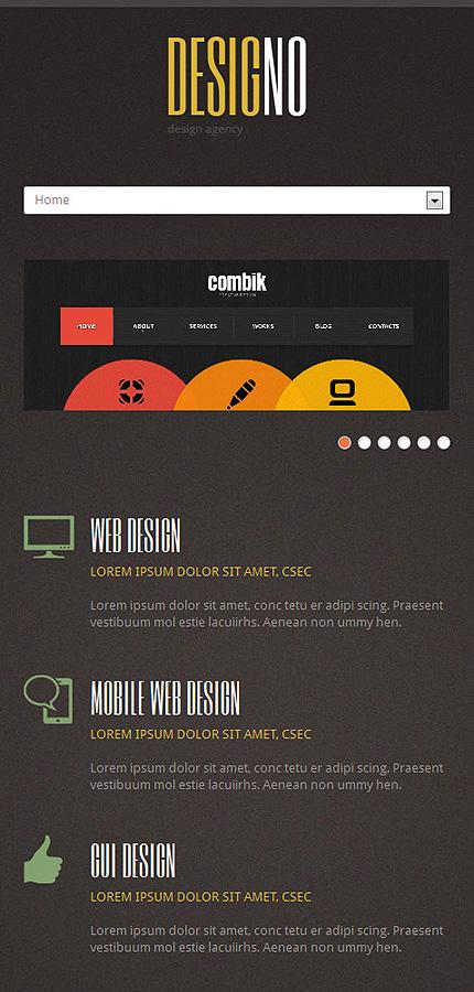 Joomla Theme/Template 48885 Main Page Screenshot