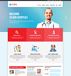Medical Joomla  Template 48887