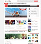 Entertainment Joomla  Template 48888