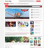Entertainment Joomla  Template 48888