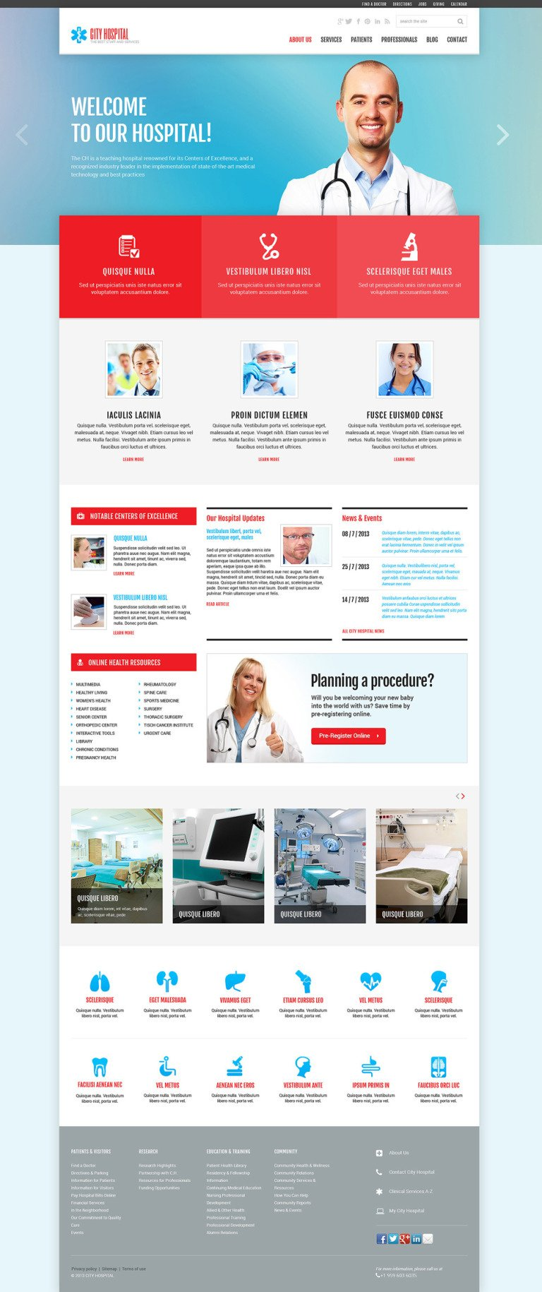 Ambulance Responsive Joomla Template New Screenshots BIG