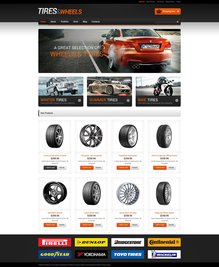 Auto Towing Responsive WooCommerce Theme New Screenshots BIG