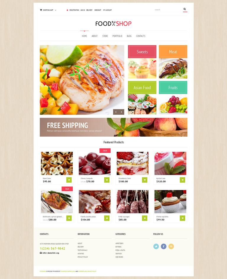 Food Store Responsive WooCommerce Theme New Screenshots BIG