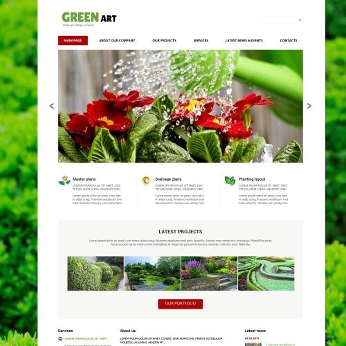 Green Art - Responsive Joomla! Template