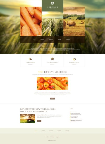 Farm Tema Moto CMS HTML
