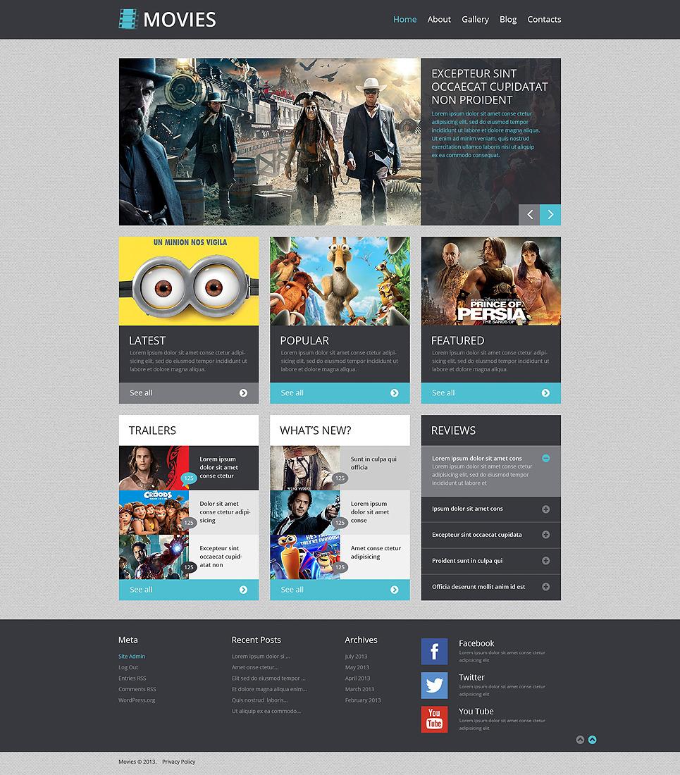Dating website template wordpress movie