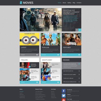 24+ Best WordPress Movie Themes 2018 | TemplateMonster