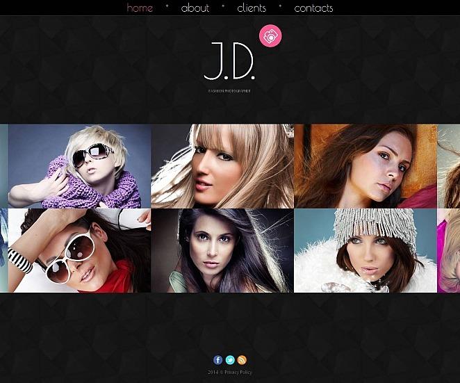 Photo Studio Photo Gallery Template New Screenshots BIG