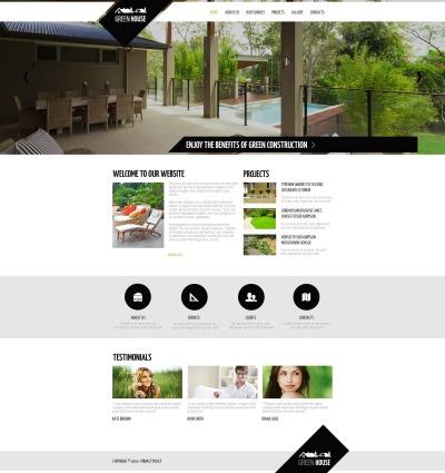 Plantilla Moto CMS HTML #48866 para Sitio de  para Sitio de Diseño de paisaje