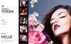 Plantilla para Galería de fotos para Sitio de Portafolios de fotógrafos New Screenshots BIG