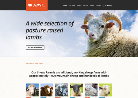 Sheep Farm Responsive