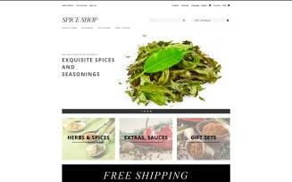 Spices and Seasonings PrestaShop Theme