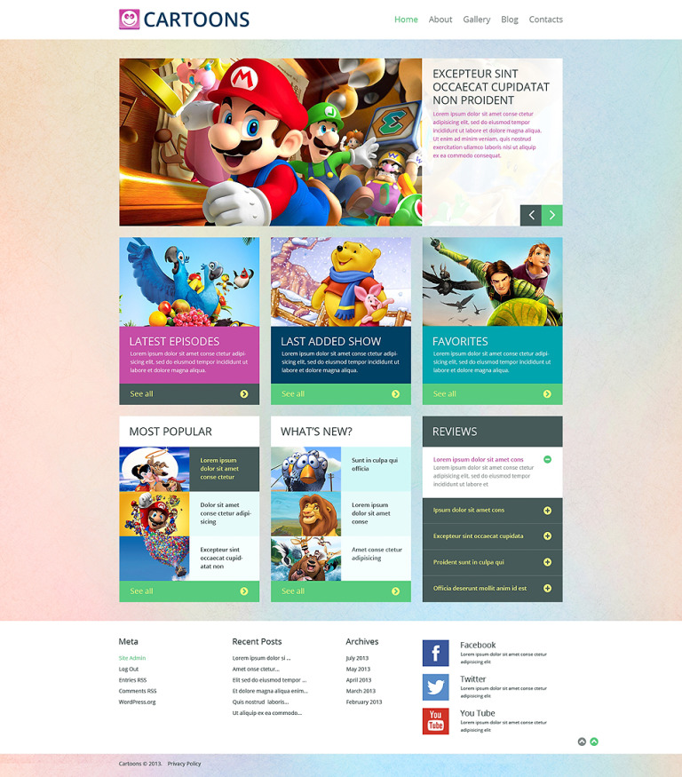 21st Century Furniture WordPress Theme New Screenshots BIG