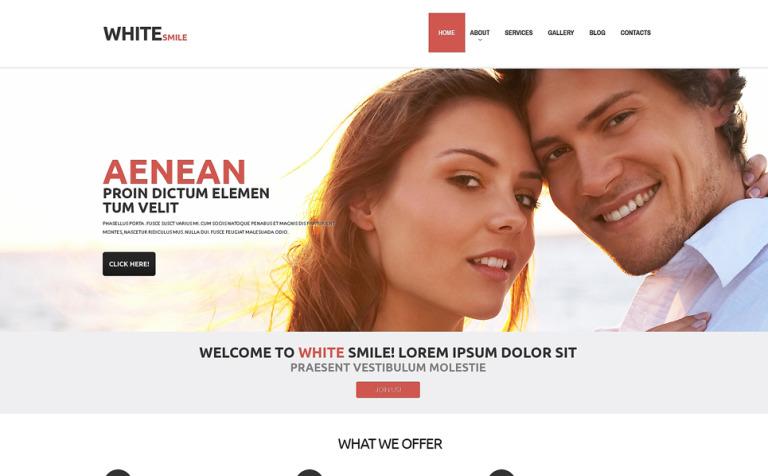 Tema de WordPress #48837 para Sitio de Odontología