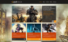 Tema de WordPress para Sitio de Portal de Juegos New Screenshots BIG