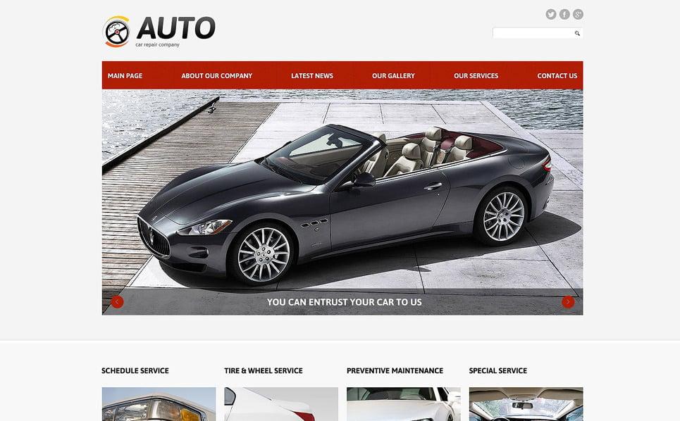 Template Joomla Responsive #48883 per Un Sito di Riparazione Auto New Screenshots BIG