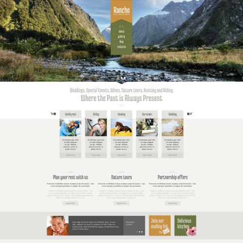 Rancho - HTML5 Drupal Template