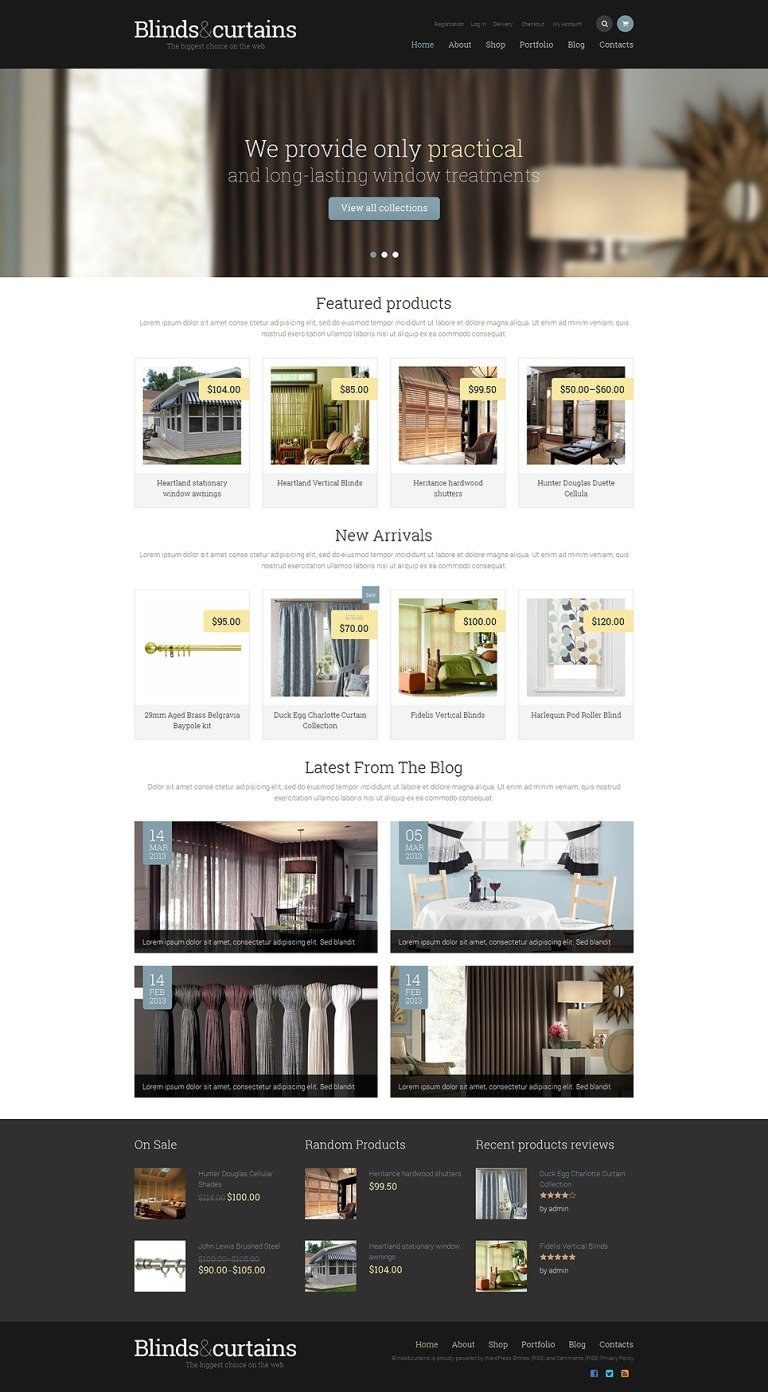 Window Decor Responsive WooCommerce Theme New Screenshots BIG