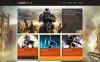 WordPress шаблон №48834 на тему игровой портал New Screenshots BIG