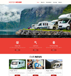Travel Website  Template 48901