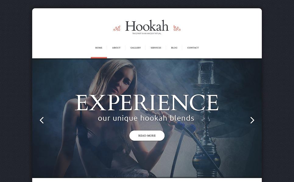 Responsive Website template over Tabak  New Screenshots BIG