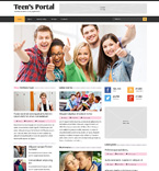 Society and Culture Website  Template 48910