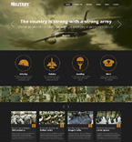 Military Website  Template 48911