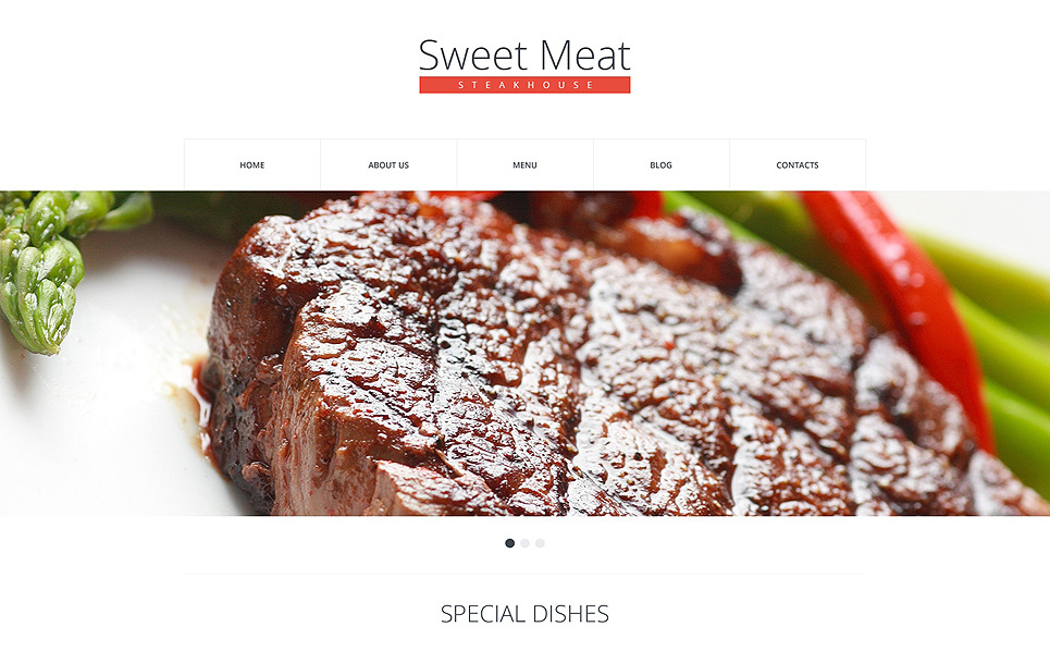 Szablon Drupal #48912 na temat: restauracja amerykańska New Screenshots BIG