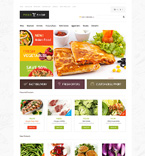 Food & Drink OpenCart  Template 48913