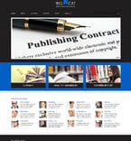 Books WordPress Template 48920