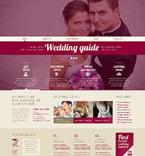 Wedding WordPress Template 48921