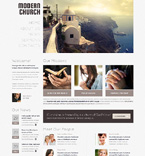 Religious WordPress Template 48926