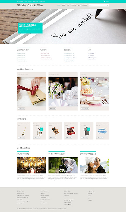 ADOBE Photoshop Template 48930 Home Page Screenshot