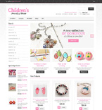 Jewelry Magento Template 48937