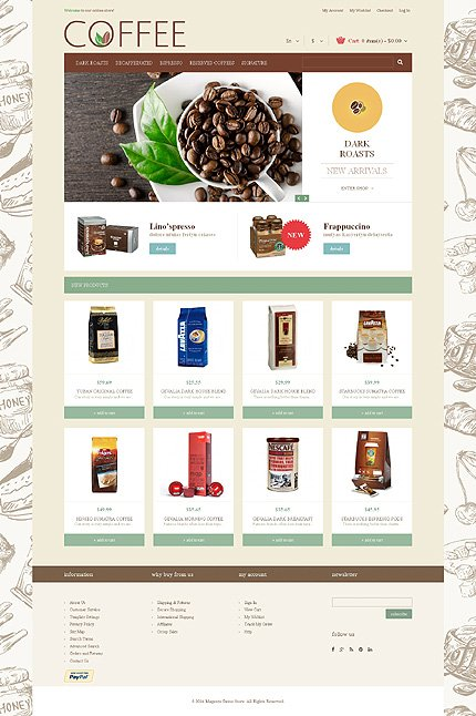 Magento Theme/Template 48938 Main Page Screenshot