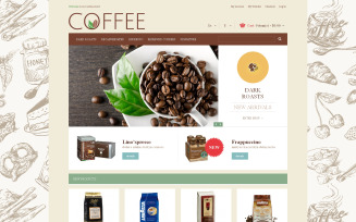 Cup of Coffee Magento Theme