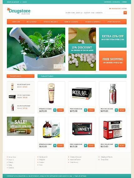 ADOBE Photoshop Template 48947 Home Page Screenshot