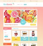 Food & Drink VirtueMart  Template 48949