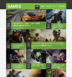 Games Joomla  Template 48951