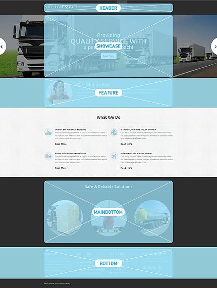 Joomla Theme/Template 48954 Main Page Screenshot