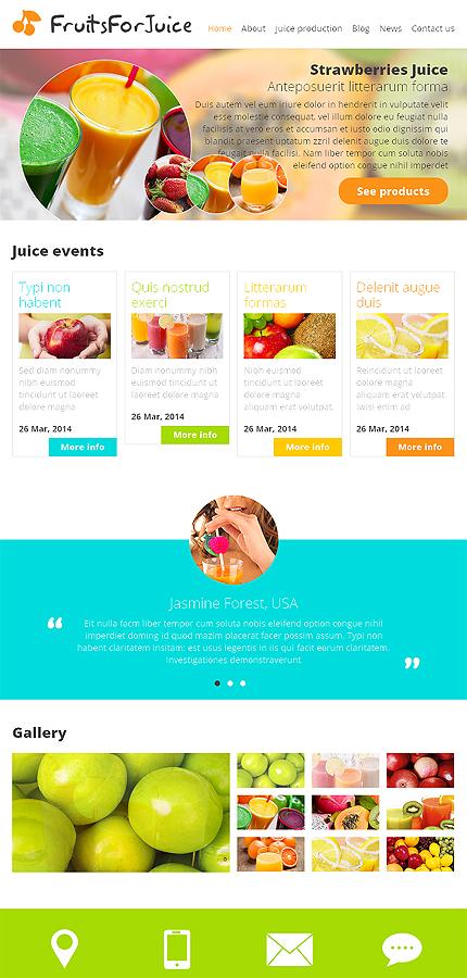 Joomla Theme/Template 48957 Main Page Screenshot