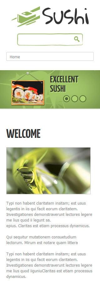 Joomla Theme/Template 48958 Main Page Screenshot
