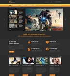Entertainment Joomla  Template 48962